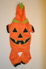 Martha Stewart Pets Dog Pumpkin Jack-o-Lantern Orange Costume Halloween Small