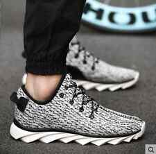 New Men's Breathable Sneakers Sport Casual Mesh Running canvas shoes Canvas