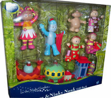 *LARGE*SET In the night garden character figure figurines & Ninky Nonk TRAIN TOY