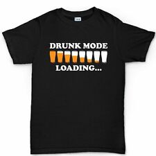 Drunk Mode Drinking Game Party Beer Glass Mug Cup T shirt Tee T-shirt