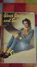 VINTAGE STITCHCRAFT WW2 KNITTING PATTERN BOOKLET  GLOVES,STOCKINGS,SOCKS-