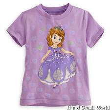 Disney Store Princess Sofia the First Tee Purple Deluxe Storytelling 4 NWT