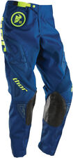 Thor NEW 2016 Youth Mx Phase Gasket Navy Lime BMX Motocross Dirt Bike Kids Pants
