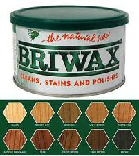 Briwax Original Furntiture Wax 1 Lb (16 oz)- All Colors- Clear, Light Brown, Oak