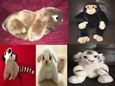 Dowman Soft Touch Various Soft Toy Animals Wild