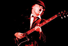 Angus Young Poster - AC/DC Poster - Jack of All Posters
