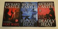 Lot of 3 Richard Castle First Edition Novels - IN VERY GOOD CONDITION!