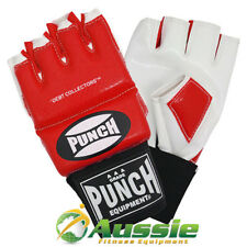 Punch Boxing Debt Collectors Fingerless MMA Mitt Glove