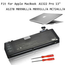 "Genuine A1322 Battery Apple MacBook Pro 13"" A1278 MB990LL/A MB991LL/A MC724LL/A"