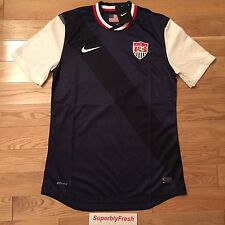Nike US National Soccer Team Away Jersey World Cup USA Dri fit EXCLUSIVE RARE