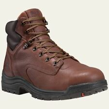"Timberland PRO Boots Mens TiTAN 6"" Alloy Toe Brown Work Boot 26063"