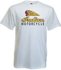 Retro Indian Motorcycle Vintage Biker Mens Motorbike T-Shirt All Size Av.