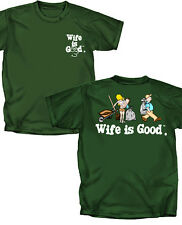 Wife is Good golf theme adult t shirt