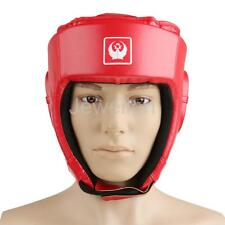 Thick Padded Head Guard Helmet Boxing MMA Martial Arts HeadGear Kick Training