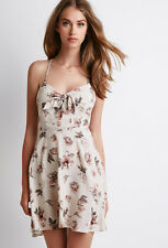 Forever 21 Floral Print Cutout Dress Size M - New with Tags