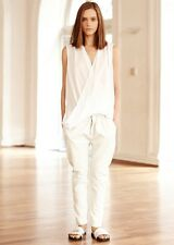 BNWT - MLM (the label) | WHITE LEATHER PANTS - RRP$399