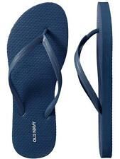 NWT Ladies FLIP FLOPS Old Navy Thong Sandals NAVY BLUE Shoes SIZE 7,8,9,10,11