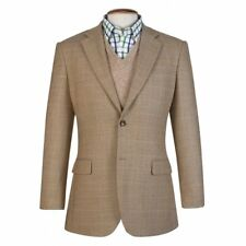 Brook Taverner Camberley Oatmeal Wool Check Jacket