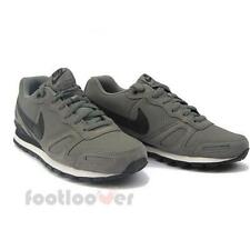 Shoes Nike Air Waffle Trainer Leather 454395 091 Running Retrò Man Grey Moda