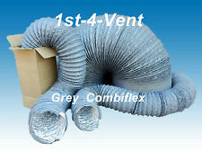 "5"" 6"" 160mm 8""  Combiflex  Flexible Ducting Hydroponic Ventilation Extractor Fan"