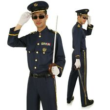 Adult Naval Officer Man Costume Navy Sailor Military Uniform Bucks Party Outfit