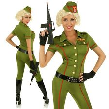 Adult Sexy Army Girl Costume Role Play Military Soldier Fancy Dress Party Outfit