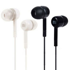 Black/White 3.5mm Headphone Earphone Earbud Stereo W/ Remote Mic For Cell Phones