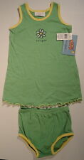LIFE IS GOOD Daisy Flower Dress Shorts Bottom SET Outfit NWT Girls Size 24 Month