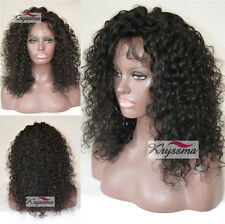 Curly Human Hair Lace Front Wigs For Black Women Remy Hair Indian Glueless Wig