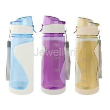 650ML Outdoor Travel Sports Gym Hiking Cycling Water Bottle Drink Cup BPA-Free