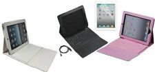 PU Leather Bluetooth Keyboard Flip Cover Case Stand for Apple iPad 3 V3 HD
