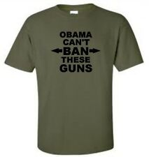 Obama Can't Ban These Guns T-Shirt Anti Obama Mens Tee More Colors
