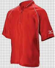 NEW Mizuno Premier Short Sleeve Baseball Softball Batting Jersey Jackets, 350284