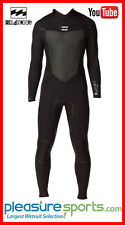 Billabong Men's Wetsuit 4/3mm Xero Gold 403 Full Wetsuit SUPER STRETCH L