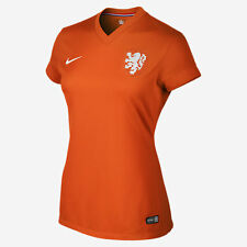 NEW NIKE Women Netherlands Dutch Home Football Soccer Jersey Shirt WorldCup