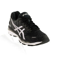 Asics - Gel Nimbus 18 Womens Running Shoe - Black/Silver/Carbon