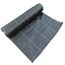 100gsm 5m,10m,15m,20m Weed Control Ground Cover Fabric Membrane Sheet