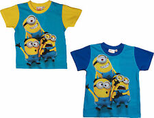 Despicable me Minions Trio Short Sleeve T Shirt By BestTrend