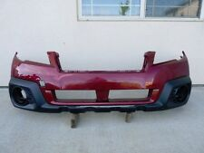 13 14 SUBARU LEGACY OUTBACK FRONT BUMPER COVER OEM