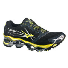 RARE AUTHENTIC MEN'S MIZUNO WAVE PROPHECY 2 RUNNING SHOES ANTHRACITE/BOLT/SILVER