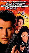 """New """"TOMORROW NEVER DIES""""  (VHS, 1997, PG-13, 1 HOUR 57 MINUTES) James Bond 007"""