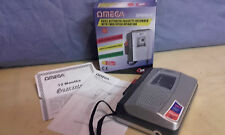 Omega Reporter 20 Cassette Recorder Dictaphone Twin Speed Mic Speaker 7920 Box