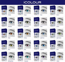 iCOLOUR eye drops - Change Your Eye Color - 20 different eye colors to choose