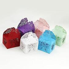 20PCS DIY Gift Candy Boxes Wedding Birthday Party Favor Laser Cut Butterfly J1G8