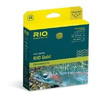 RIO GOLD MaxCast WF FLOATING FLY LINE (MOSS GOLD) * 2016 Stocks *