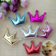 10PCS/LOT  Pet Dog Crown Design cat Accessories Grooming Hair Bows Dogs hairpins