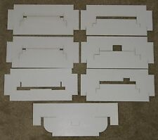 7 Lionel HO '65-'66 Freight car inserts (for Hillside, NJ Boxes), Repro.