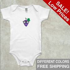 Infant Bodysuit Organic Shirt Short Sleeve Apple Size 3-6 6-12 18-24 Cotton