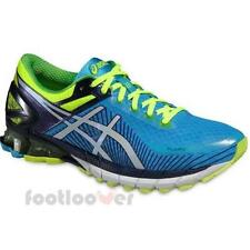 Shoes Asics Gel Kinsei 6 t642n 4201 man running Flash Blue Indigo