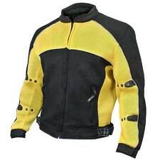 Xelement CF-509 Mesh Sports Armored Motorcycle Jacket